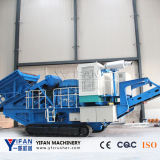 Technology Patented and Low Price Tracked Rock Crusher