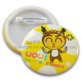 Fashion Tinplate Badge with Lovely Logo (GZHY-MKT-030)