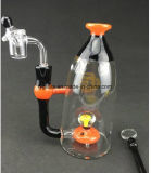 Big Beaker Heady Water Recycler Glass Water Pipe with 14.4 mm Glass Bowl