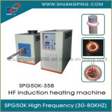 High Frequency Induction Heating Machine 35kw 30-100kHz Spg50K-35b