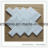 China White Marble Bianco Carrara Mosaic for Wall Tile