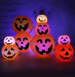 Promotional Halloween LED Pumpkin Light, Pumpkin Lamp with Light Source
