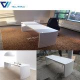 Special Design White Gloss Latest Design Office Desk