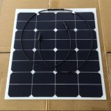 50W Semi Flexible Solar Panel, Sunpower Solar Panel