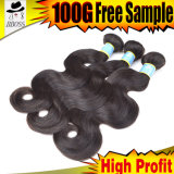Human Hair Wave, 100% Brazilian Hair Extension