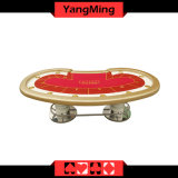 Texas Holdem Casino Poker Table Factory Economical Model Style 10 Players Gambling Games (YM-TB014)