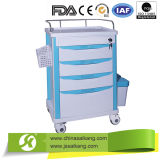 China Factory High Quality Operating Instrument Nursing Trolley ABS