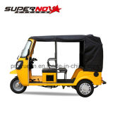 200cc Gasoline Passenger Tricycle for 4-6persons