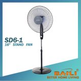 """16"""" Electric Stand Fan with Remote and Cross Base"""