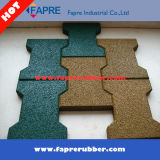 Dog Bone Rubber Rubber Pavers for Horse