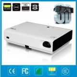 Smart and Portable Projector with Universal Battery System Working Stability