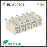 525 Pluggable Male Connector with Middle Preceding Ground Contact