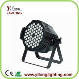 High Quality 54X3w RGB Aluminum DJ Strobe Light