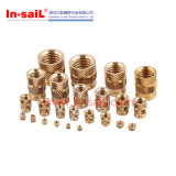 Heat Staking Threaded Brass Insert Nut for Plastic