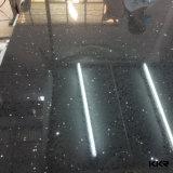 120′′ Sparkle Black Quartz Surface