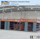 Medium Duty Rack Industrial Warehouse System Mezzanine Floor