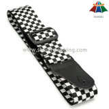 Wholesale Durable Nylon Guitar Straps with Leather Ends