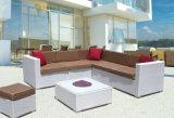 Conservatory Corner Heavy Wicker Outdoor Furniture