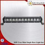 13 Inch 36W CREE Mini Single Row LED Light Bar for Offroad 4X4