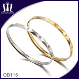 Two Sister Faceted Bangle Ob115