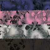 Satin Plants Leather for Handbag Z09