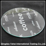 4mm Round Clear Tempered Glass Coaster