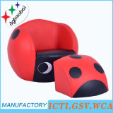 Ladybug Children Sofa and Ottoman/Kids Furniture/Baby Step Stool (SXBB-01-16)
