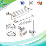 Polishing Stainless Steel Metal Bathroom Toilet Brush Holder