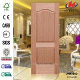 HDF/MDF EV-Sapelli Veneer Door Skin (JHK-002)