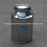 Double Layers Stainless Steel Milk Bucket for Dairy Farm 40L