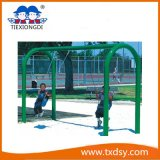 Cheap Hot Sale Popular Children′s Outdoor Playground Swing in China