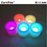 6 Sizes/Sets Multicolors Paraffin Wax Candle Light for Decoration