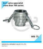 Stainless Steel 316 Female Coupler 2 Inch