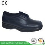 Lace up Diabetic Shoes Wide Casual Shoes Leather Comfort Shoes