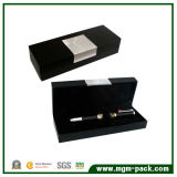 Exquisite Black Single Paper Gift Pen Box for Packing
