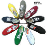 Hot Sale Classic Men Canvas Shoes Casual Shoes Skate Shoes (VACE01)
