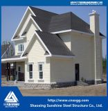 Single Steel Structure Villa with Ce
