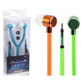 Metal Shoelace Earphone with Microphone for iPhone