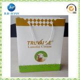 Custom Printing Luxury Black Matte Retail Paper Bag Packaging Design (JP-PB006)