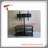 Tempered Glass TV Stand Fashion Design (TV041)