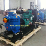 Heavy Duty Trailer Mounted Diesel Engine Sewage Water Pump