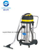 80L Stainless Steel Wet and Dry Vacuum Cleaner with Tilt