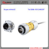 Solid Construction with Metal Shell Ethernet LAN Rj-45 Connector/RJ45 8p LAN Connector/RJ45 Waterproof Connector