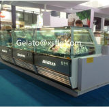 Hot Sale Gelato Display Freezer for Ice Cream