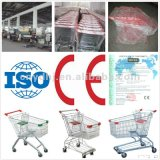 Asian Style Shopping Mall Trolley Cart for Supermarket