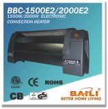 1500W/2000W Electronic Low Profile Convection Heater