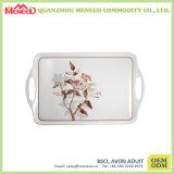 Wholesale Custom Printed Melamine Tray White