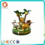 Indoor Animals Amusement Park Kids Carousel Game Machine