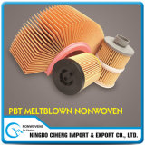 China Manufacturer Oil Filter Media PBT Melt-Blown Non Woven Fabric