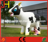 Advertising Inflatable Big Milk Cow Cartoon for Display
